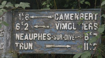 Les routes du camembert...