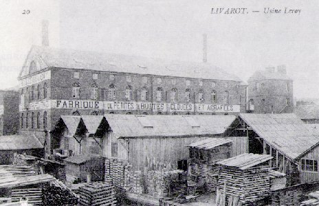 The Leroy Factory (Old  postcard)