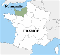 Normandie map